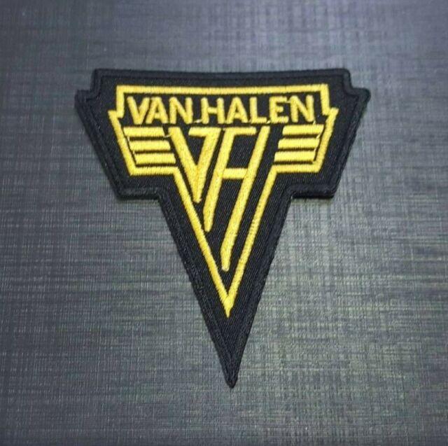 PUNK POP METAL MUSIC SEW ON /& IRON ON PATCH:- VAN HALEN ROCK