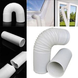 Portable Air Conditioner Exhaust Pipe Extend 1.5//2//3M Vent Hose 13cm Diameter