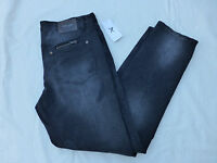 Mens Marc Ecko Cut And Sew 5 Pocket Straight Jeans $99 T44jn02 Black