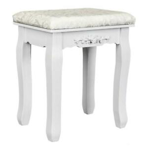 Vanity Stool Makeup Dressing Padded Bench for Living Room Bedroom Dorm Apartment