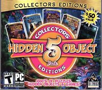 Night Mysteries: The Amphora Prisoner Hidden Object 5 Pack Pc Game