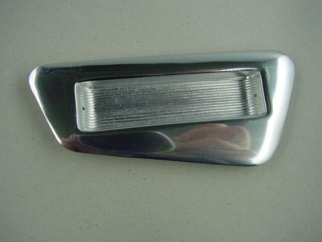 Paar Einlassgriff,50er Jahre Schubladengriff Aluminium,Möbelgriff f. Schubladen,