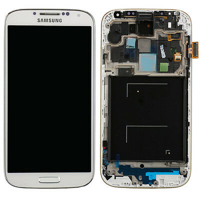 Display SCHERMO ORIGINALE SAMSUNG I9505 Galaxy S4 SIV i9505 BIANCO WHITE 14655A