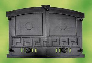 Image Is Loading Oven Door Stove Door Cast Iron 2 Wings