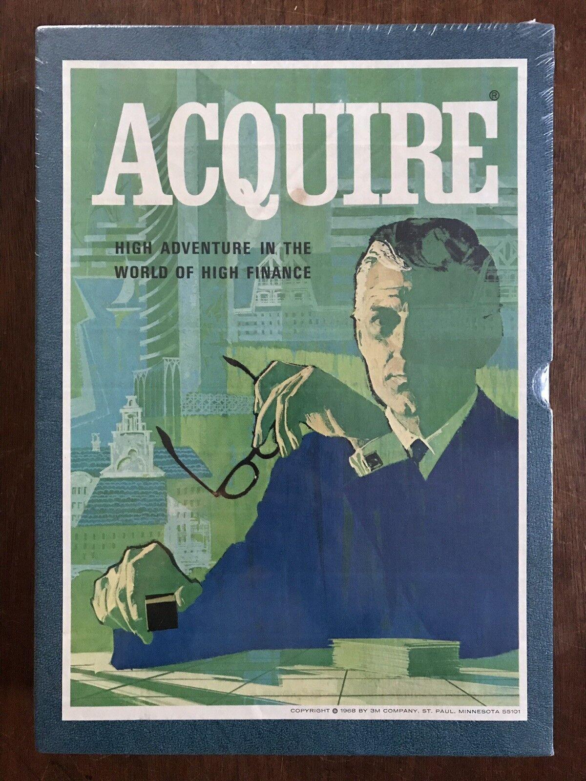 Board Game, Acquire, 3M, 1968