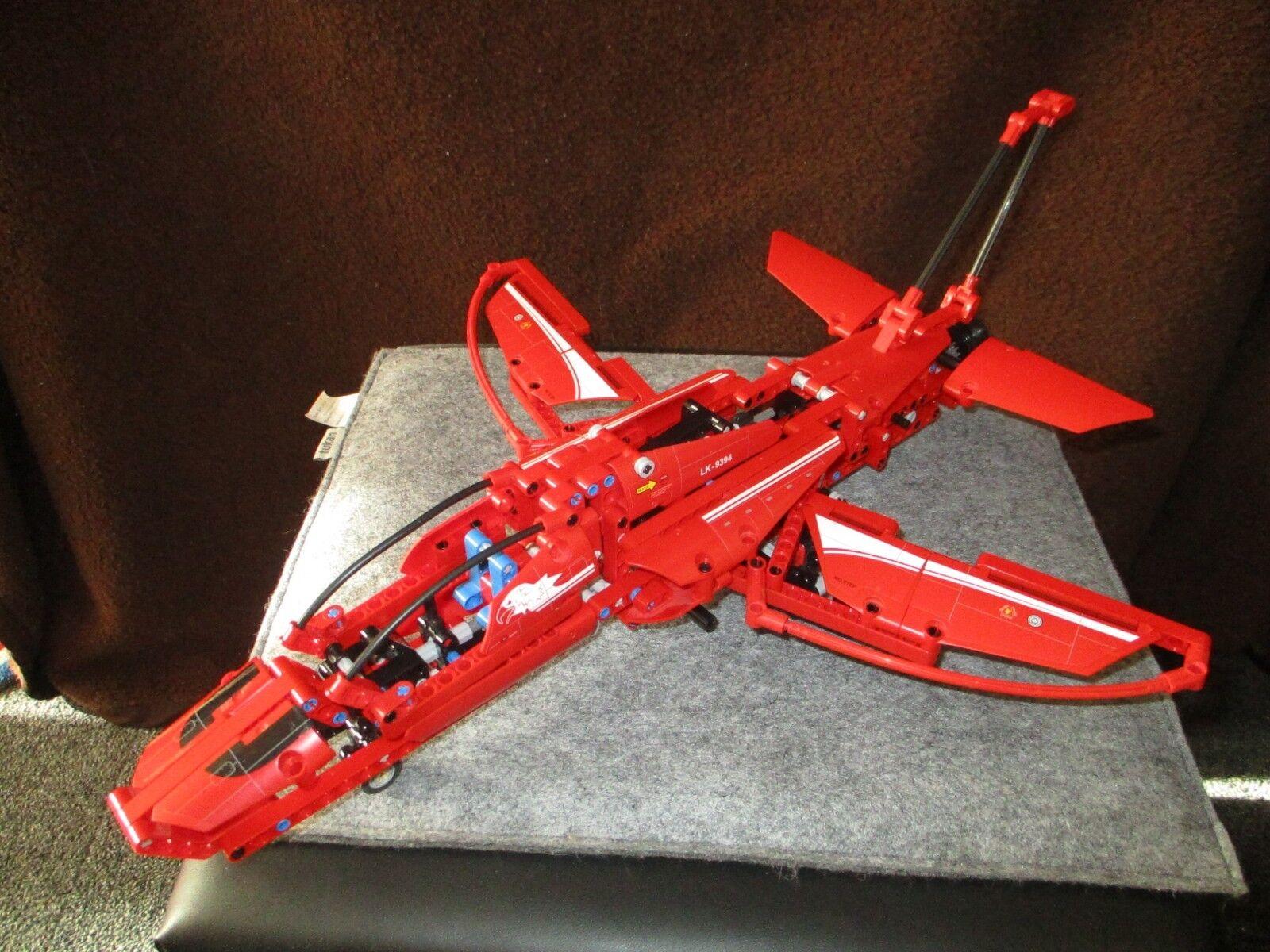 Lego  9394 Technic-Jet Plane avec ba  confortablement