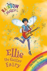 Ellie-the-Guitar-Fairy-Rainbow-Magic-by-Daisy-Meadows-Good-Used-Book-Paperba