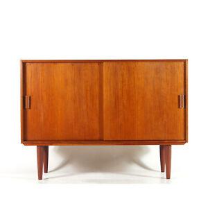 Retro-Vintage-Danish-Large-Teak-Sideboard-TV-Cabinet-60s-70s-Mid-Century-Modern