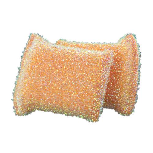 Plum Orange or Lime Casabella 2pk Sparkle Non-Stick Safe Scrub Sponge