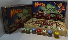 VINTAGE 1940s BOXED SET OF MAZDA DISNEYLIGHTS 'FANTASIA' CHRISTMAS TREE LIGHTS