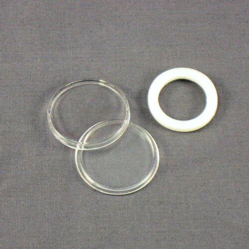 Pennies 5 White Ring 19mm Air-Tite Coin Holder Capsules for Cents