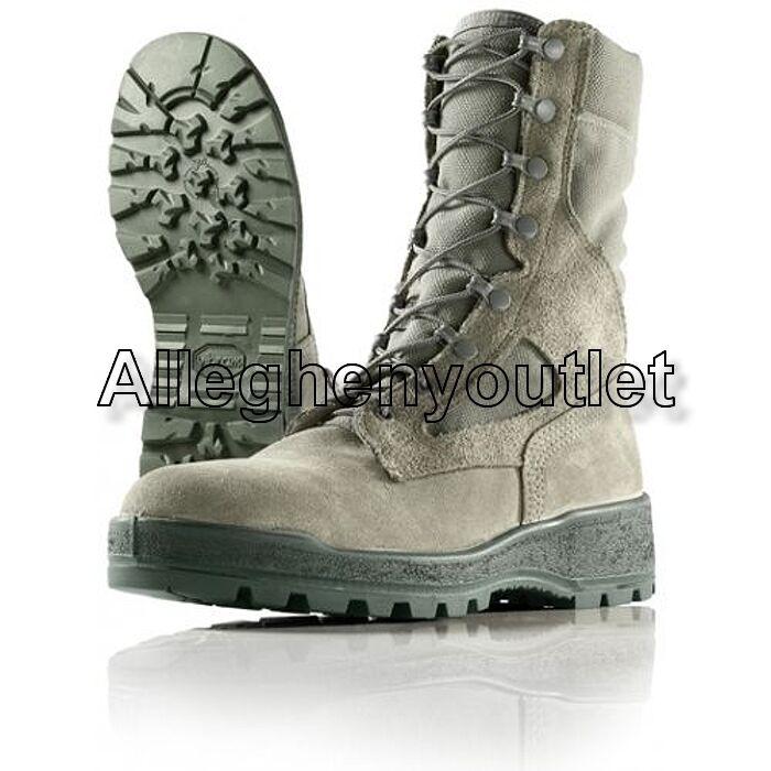Womens USAF Belleville FAFTW GORETEX Temperate Weather Combat Boots Sage 5-10