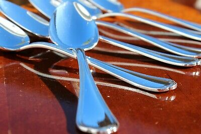4 Coffee Spoon  Spoons SPATOURS Pattern CHRISTOFLE Cutlery