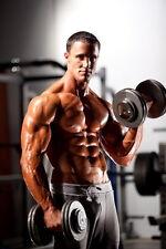 """007 Greg Plitt - American Fitness Model Actor 24""""x36"""" Poster"""