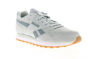 Reebok-Classic-Harman-Run-DV7058-Womens-Gray-Suede-Lifestyle-Sneakers-Shoes-10