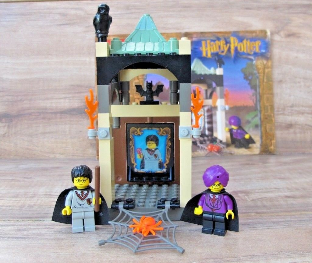 HARRY POTTER LEGO 4702 The Final Challenge - 100% Complete + Manual - EUC