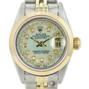 Authentic-Rolex-Datejust-6917-18k-Yellow-Gold-Automatic-Ladies-Watch