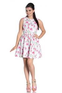 Robe-Mini-Vol-sans-Manches-Imprime-Roses-Natalie-Mini-Dress-4792-Hell-Bunny