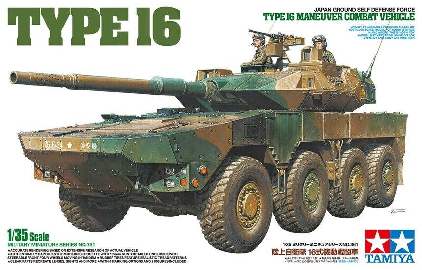 Tamiya 35361 1 35 Scale Model Kit JGSDF Type 16 Maneuver Combat Vehicle MCV