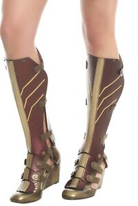 9048972f4f7 DC Comics Exclusive Amazon Wonder Woman 3-Piece Cosplay Wedge Boots ...