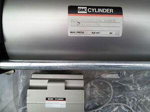 SMC-AIR-HYDRO-CYLINDER-TIE-ROD-CA1DH100-150-HYDRAULIC-ACTUATOR