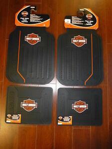 Harley Davidson Elite Front And Rear Car Truck Rubber
