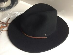 Image is loading Brixton-field-hat-black-size-Large 14357b95cc0f