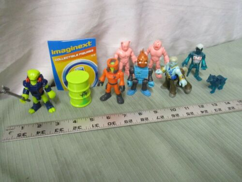 Imaginext Blind Bag Series 11 Pick one NEW individual bb Muscle Men X ray alien
