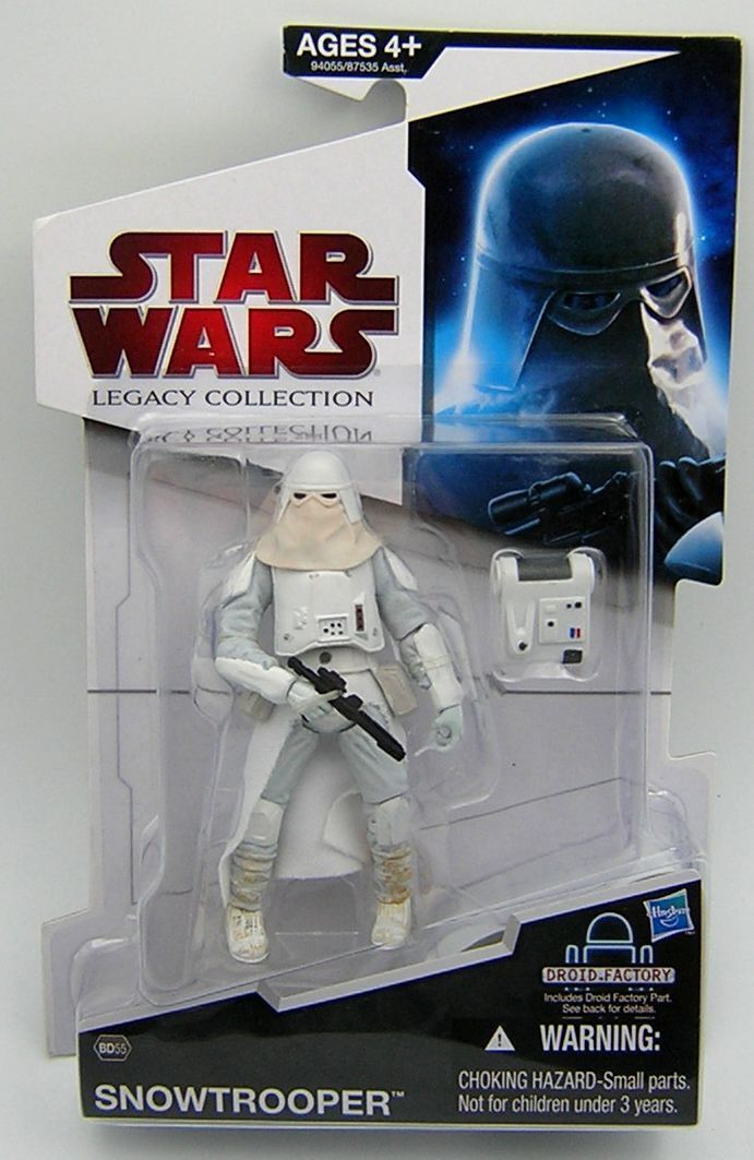 Star wars legacy collection bd55 snowtrooper