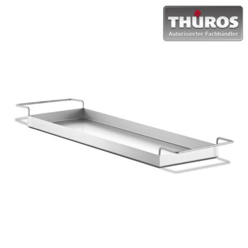 Thüros II FS4060E aus Edelstahl Schale Grillzubehör T4 Neu Fettauffangschale f