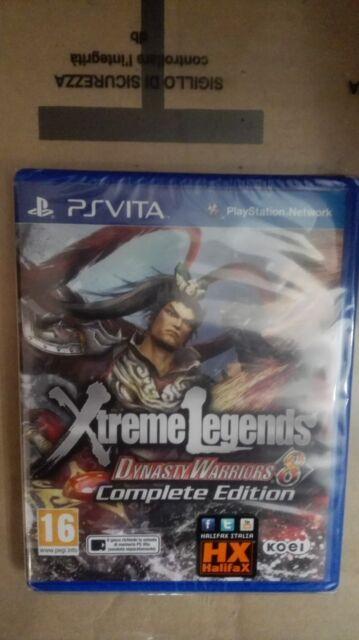 Dynasty Warriors 8 Xtreme Legends COMPLETE EDITION PS VITA SIGILLATO ED. ITALIAN