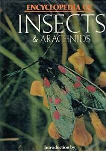 Encyclopedia-of-Insects-and-Arachnids-Hardcover-By-Burton-Maurice-GOOD