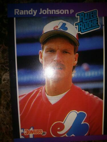 1989 Donruss Randy Johnson Montreal Expos 42 Baseball Card For Sale Online Ebay