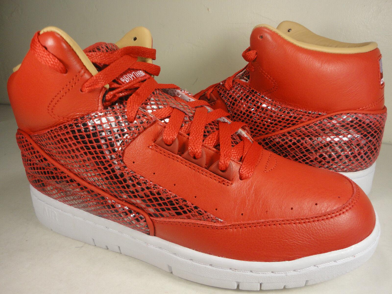 Nike Universidad Air Python Lux SP Universidad Nike Rojo Blanco de piel de serpiente rara DSM reducción de precio 79b5eb