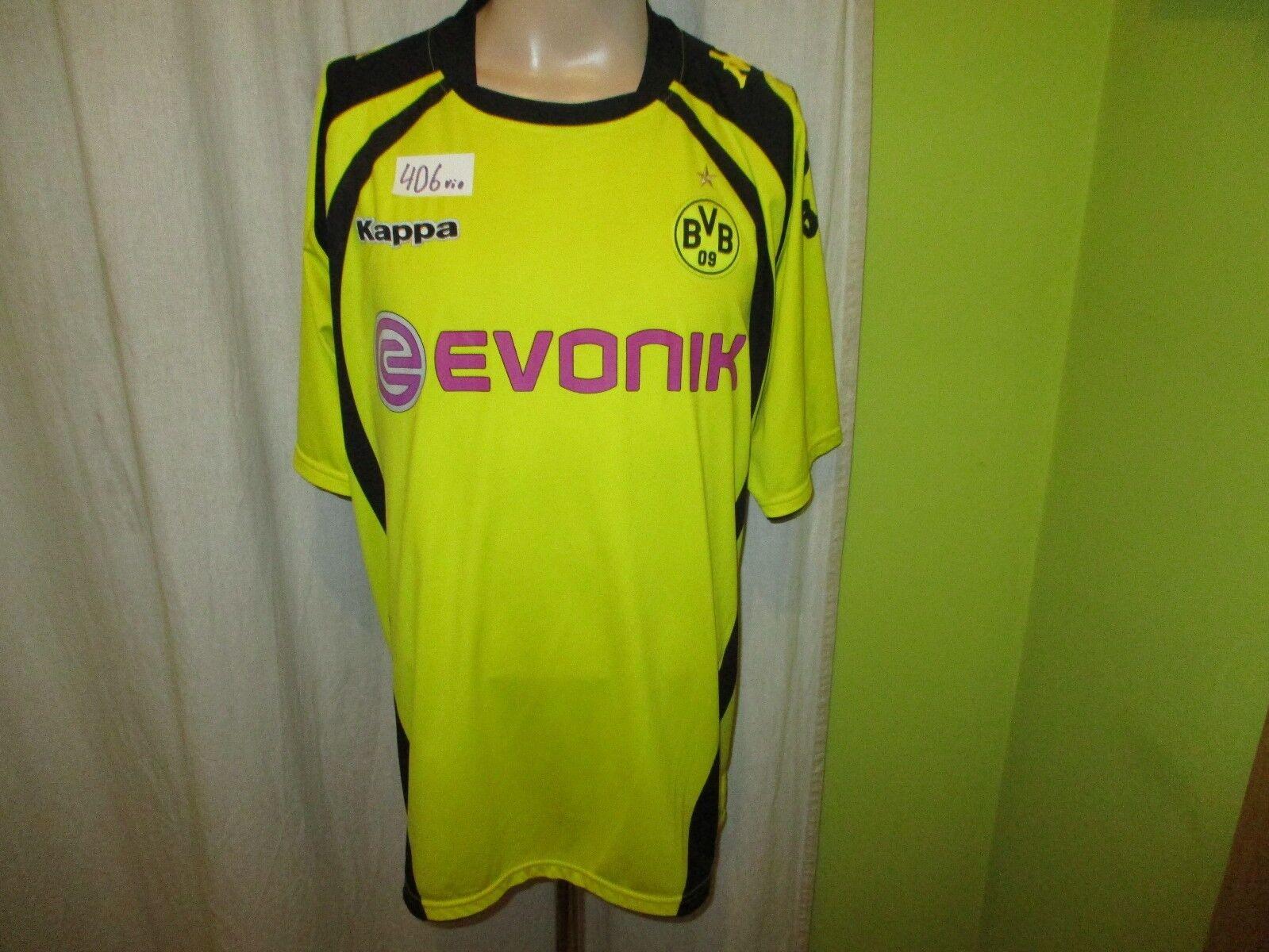 Borussia Dortmund Original Kappa Heim Trikot 2009 10  EVONIK  Gr.XXL