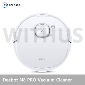Ecovacs Deebot N8 PRO Mopping Robot Vacuum Cleaner DLN11 Auto Empty Station