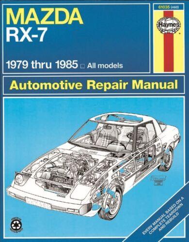 Repair Manual-S Haynes 61035 fits 83-84 Mazda RX-7