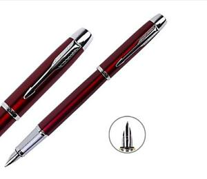 Good-Parker-Pen-Classic-IM-Series-Red-Color-0-5mm-Nib-Fountain-Pen