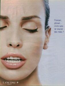Publicite-contemporaine-creme-Lancome-2003-issue-de-magazine