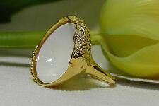 NEW Alexis Bittar 'Miss Havisham-Liquid Gold' Concave Ring. Size 7