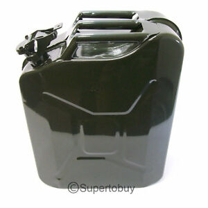 New-5-Gallon-Spill-Proof-Metal-Military-GREEN-Jerry-Can-Fuel-Gas-Gasoline-Diesel