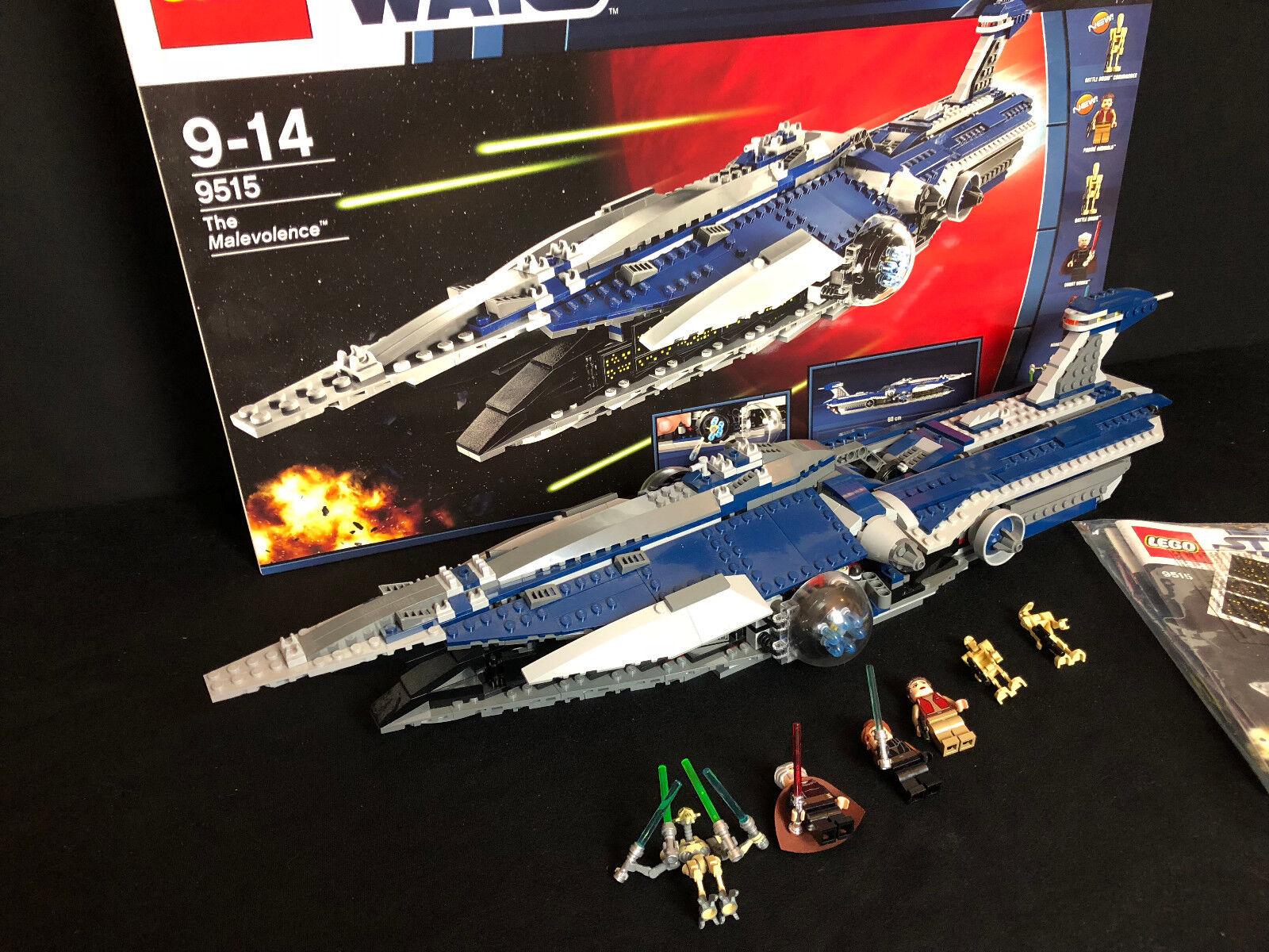 LEGO ® 9515 estrella guerras  ™ THE MALEVOLENCE con il Generale Grievous PERSONAGGIO CON SCATOLA E BA  Spedizione gratuita per tutti gli ordini