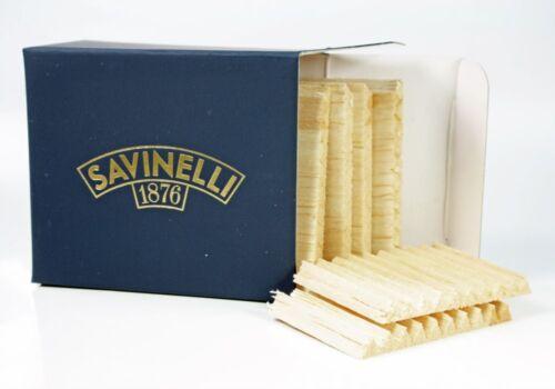 100 PCS × SAVINELLI 6 MM BALSA FILTERS MINIBOX ** NEW in BOX **