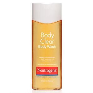 Neutrogena Body Clear Body Wash Salicylic Acid Acne Treatment 8 5