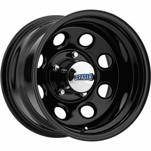 4-17x9 Black Wheel Cragar 397 Soft 8 8x6.5 0
