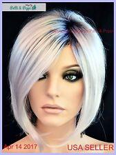 Aria Rene of Paris Lace Front Wig Illumina R  Bob Style Cute Authentic US Seller