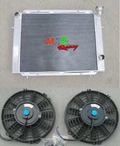 56mm-3-core-aluminum-radiator-amp-fan-2-for-Holden-Commodore-VB-VC-VH-VK-V6-Manual