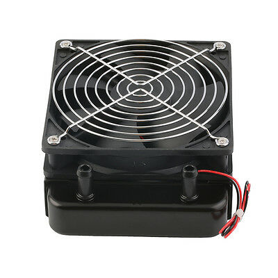 120mm Water Cooling CPU Cooler Row Heat Exchanger Radiator with Fan for PC OS