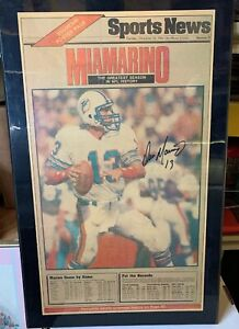 Dan-Marino-Signature-December-18-1984-Newspaper