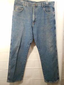 WRANGLER-big-men-039-s-medium-wash-blue-straight-leg-jeans-size-40x30